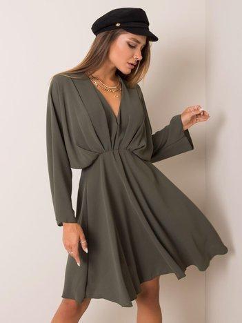 Khaki sukienka Zayna