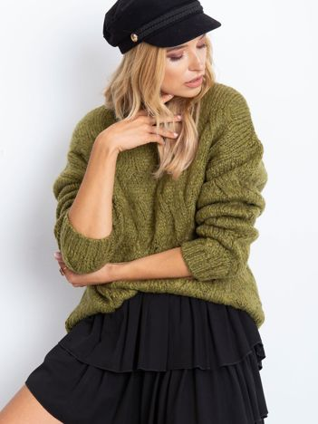 Khaki sweter Bali