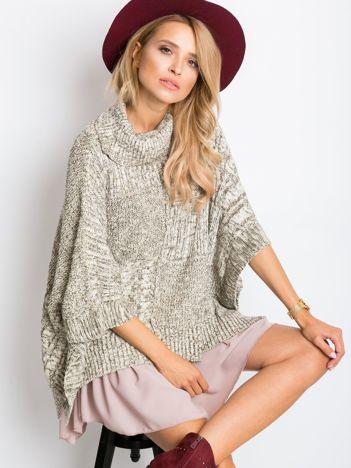 Khaki sweter Elisa
