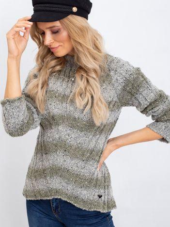 Khaki sweter Fantasy