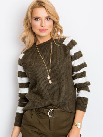 Khaki sweter Independent