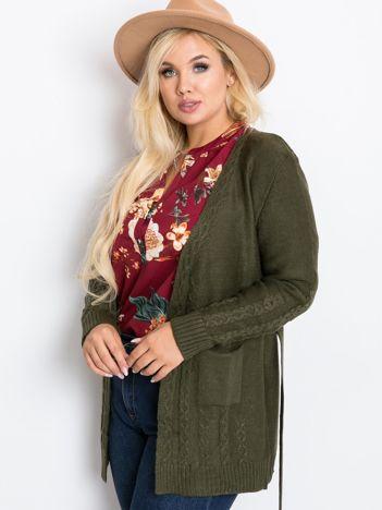 Khaki sweter plus size Vibe