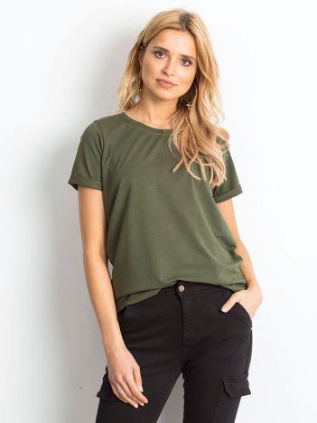 Khaki t-shirt Transformative