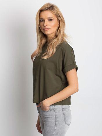 Khaki t-shirt Woodland
