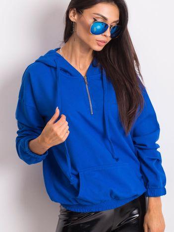 Kobaltowa bluza Kimmie
