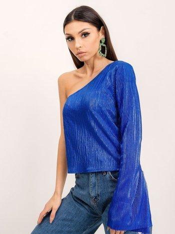 Kobaltowa bluzka BSL