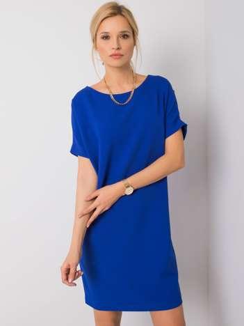 Kobaltowa sukienka Deborah