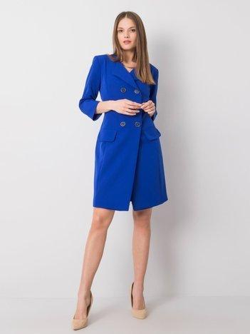 Kobaltowa sukienka koktajlowa Molly