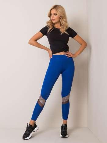 Kobaltowe legginsy Ellen FOR FITNESS