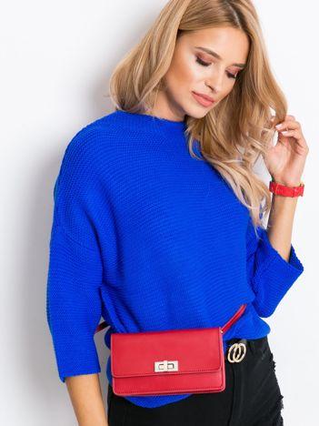Kobaltowy sweter Lennox