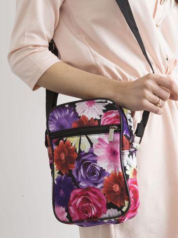 Kolorowa torebka w kwiaty