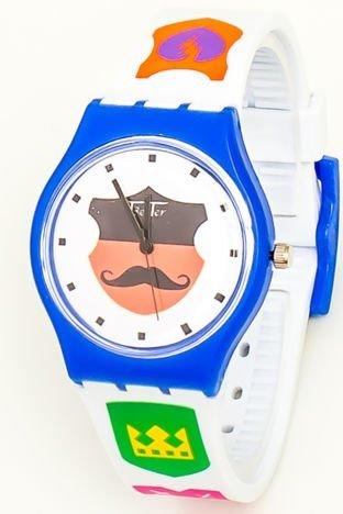 Kolorowy Zegarek Dziecięcy WĄSY