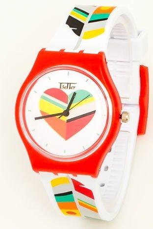 Kolorowy Zegarek dziecięcy LOVE