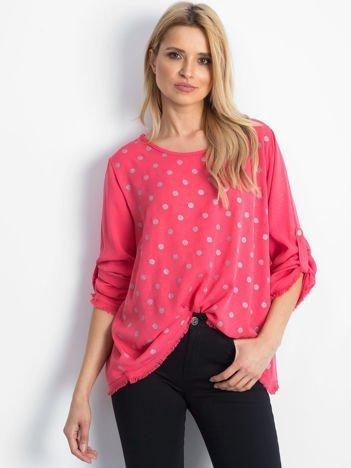 Koralowa bluzka Designer
