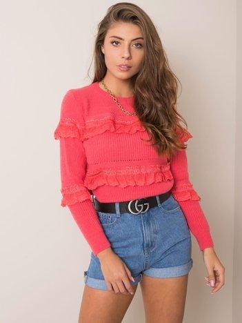 Koralowy sweter Antonietta