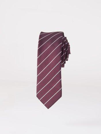 Krawat męski we wzory wielokolorowy