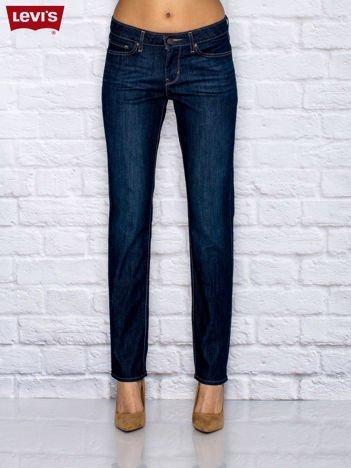 LEVIS Niebieskie spodnie jeansowe regular