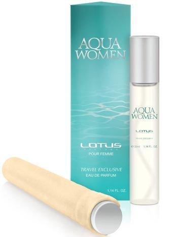 LOTUS 002 Aqua WOMAN eau de parfum pour femme woda perfumowana dla kobiet 33 ml