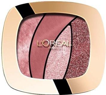 L'Oreal Color Riche Les Ombres Smoky poczwórne cienie S10 Seductive Rose 2,5 g