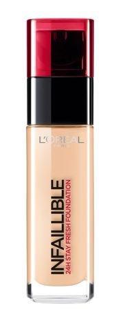 L'Oreal Infallible 24H Foundation długotrwały podkład do twarzy 200 Golden Sand 30 ml