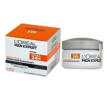 L'Oréal Men Expert Hydra 24H krem do twarzy intensywnie nawilżający do skóry suchej 50 ml