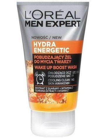 L'Oréal Men Expert Hydra Energetic pobudzający żel do mycia twarzy 100 ml