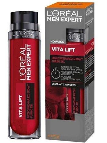 L'Oréal Men Expert Vita Lift przeciwzmarszczkowy turbo żel 50 ml