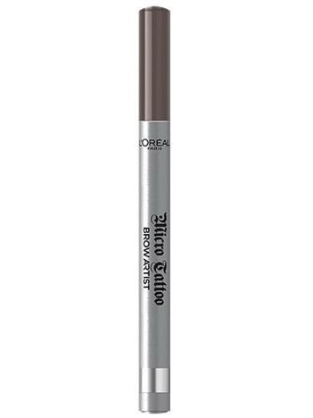 L'Oréal Micro Tattoo Brown Artist marker do brwi 107 Cool Brunette