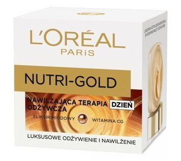 L'Oréal Nutri Gold NAWILŻAJĄCA TERAPIA ODŻYWCZA krem na dzień 50 ml