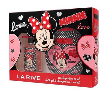 """La Rive Disney Love Minnie Zestaw (woda perfumowana 50ml+żel pod prysznic 2w1 250ml)"""""""