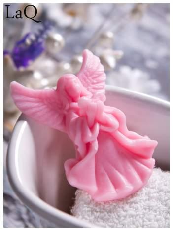 LaQ Mydełko Mały aniołek - różowy / Zapach - truskawka BEZ SLS i SLES