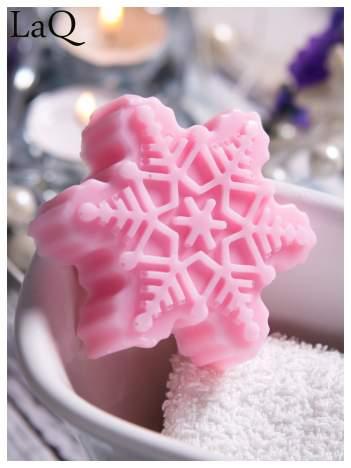 LaQ Mydełko Śnieżynka - różowy / Zapach - truskawka BEZ SLS i SLES
