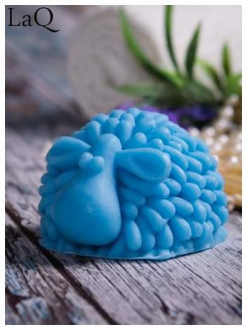 LaQ Mydełko duże Baranek - niebieski / Zapach - wata cukrowa BEZ SLS i SLES
