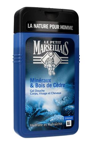 Le Petit Marseillais Żel pod prysznic 3w1 dla mężczyzn Drzewo Cedrowe 250 ml