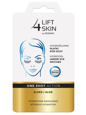 Lift 4 Skin One Shot Action Hydrożelowe Płatki pod oczy - Aloes