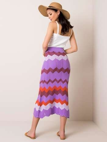Liliowa spódnica Fabia RUE PARIS