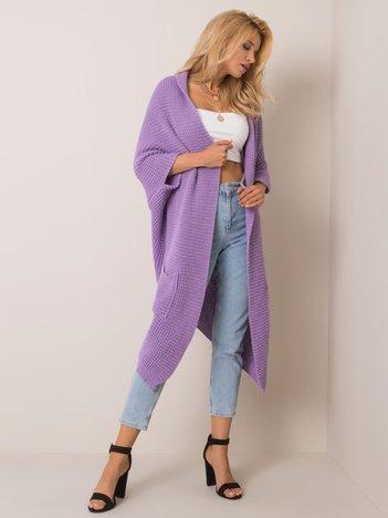 Liliowy sweter Ally OCH BELLA