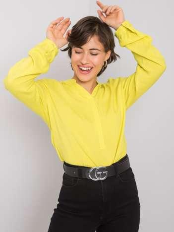 Limonkowa bluzka Davina RUE PARIS