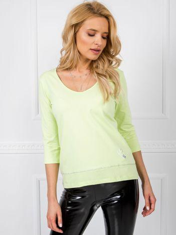 Limonkowa bluzka Gracie