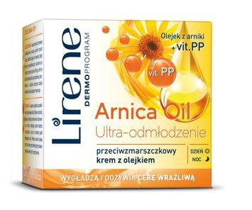 Lirene Arnica Oil - przeciwzmarszczkowy krem z olejkami 50 ml