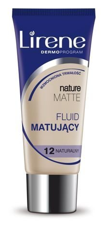 Lirene Fluid Matujący Nature Matt- Naturalny ,  12 30 ml
