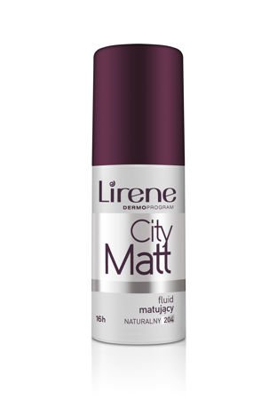 Lirene Fluid matująco-wygładzający City Matt - Naturalny 204 30 ml