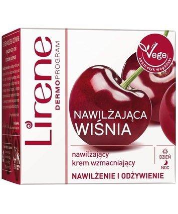 Lirene Nawilżająca Wiśnia nawilżający krem wzmacniający 50 ml