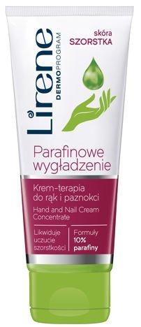 Lirene Parafinowe wygładzanie. Krem- terapia do rąk i paznokci 100 ml