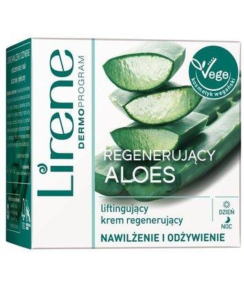 Lirene Regenerujący Aloes liftingujący krem regenerujący 50 ml