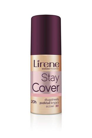 Lirene Stay cover Długotrwały podkład kryjący - beżowy 303 30ml