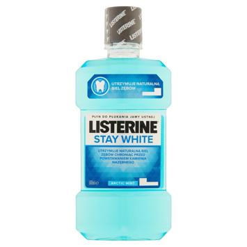 "Listerine Stay White Ochronny płyn do płukania jamy ustnej 500ml"""