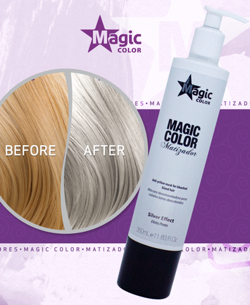 MAGIC COLOR Profesjonalna MASKA TONUJĄCA SILVER EFFECT 350 ml