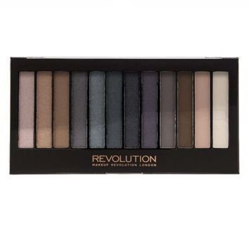 MAKEUP REVOLUTION Paleta 12 cieni Iconic Smokey 13g