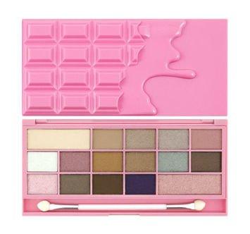 MAKEUP REVOLUTION Paleta 16 cieni Chocolate Pink Fizz 22g